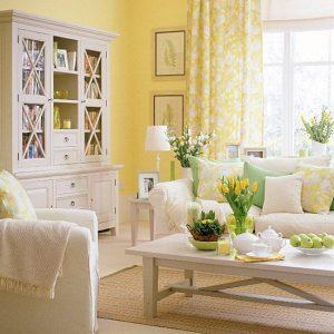 desain interior rumah vintage