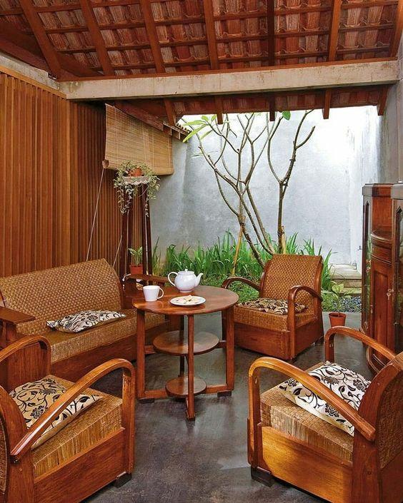 Desain Interior Rumah Tradisional