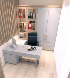 desain meja kerja minimalis